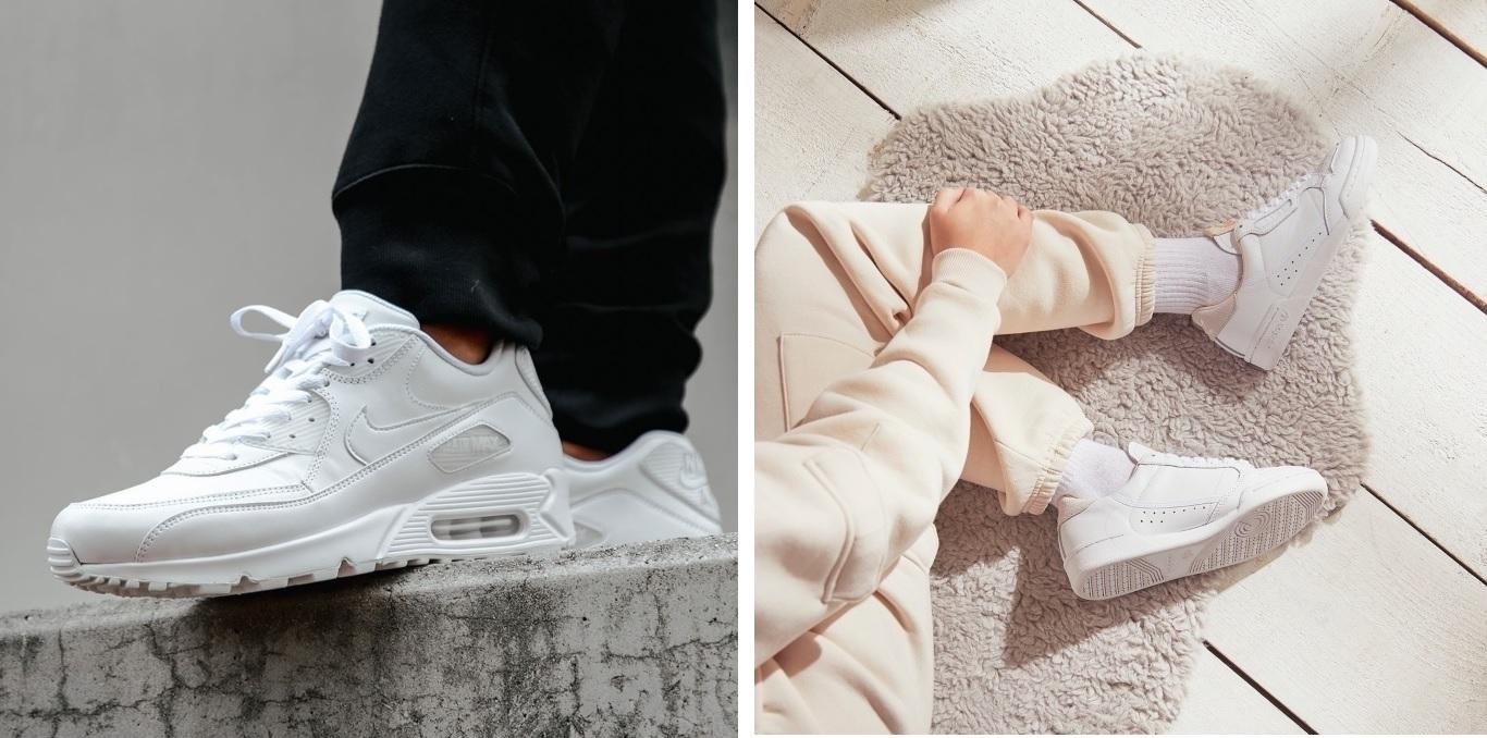 Puhdista sneakerit