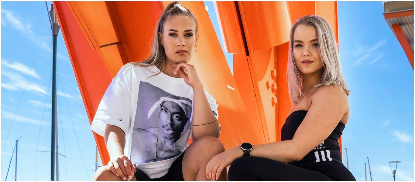 Vaikuttajat Veera Könönen ja Tiia Maaranen